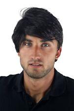 Wig Men's Mens Short Teen Casual Trendy Black Parting GFW967-2