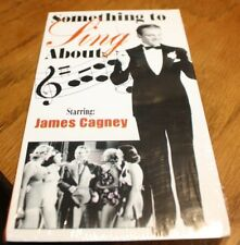 VHS Something To Sing About James Cagney