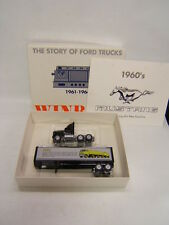 Winross The Story of Ford Trucks Series 1961-1964 day cab tractor & trailer Vgc