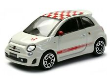 FIAT 500 ABARTH 1:43 Car NEW Model Diecast Models Cars Die Cast White
