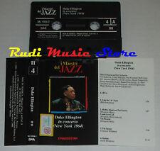MC DUKE ELLINGTON In concerto maestri del jazz II4 1990 DeAGOSTINI cd lp vhs dvd