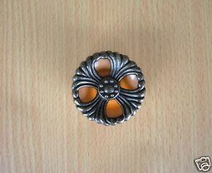 Knob For  Waterfall Style Doors and Drawers Vanity Bakelite