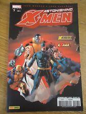 * ASTONISHING X-MEN 7 * dec 2005 MARVEL XMEN VF PANINI COMICS - LUNE NOIRE