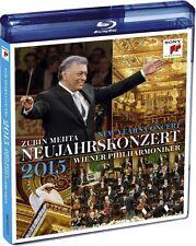 NEUJAHRSKONZERT 2015 (Wiener Philharmoniker, Zubin Mehta) Blu-ray Disc NEU+OVP