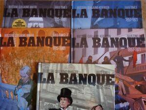Bande dessinée La Banque tomes 1 à 5 première édition