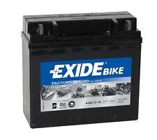 Batterie moto AGM Exide AGM12-18 12V 18AH 190A 180X75X165MM
