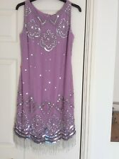 Frock and Frill Embellished Flapper Dress Size 8