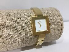 Reloj Watch Montre CK Calvin Klein - Quartz - Golden Steel - 21 x 21 mm