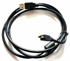 USB Data Cable Cord Lead For Sony Handycam HDR-TD10/e DCR-DVD201/e DCR-SX40/e
