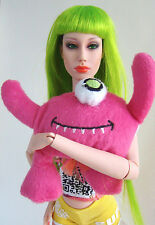 "Little Pink Monster Plush Mini Toy 4 Sybarite Ficon Jamieshow 16"" Fashion Dolls"