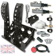 UNIVERSAL FLOOR MOUNTED 2 PEDAL CABLE PEDAL BOX + KIT A  CMB0704-CAB-KIT