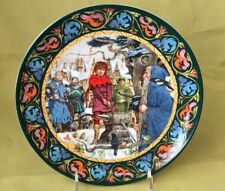 Wedgwood Plate The Legend of King Arthur - Arthur Draws The Sword - 1986