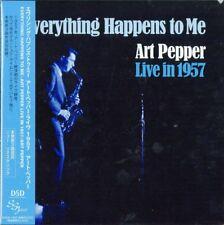 ART PEPPER-EVERYTHING HAPPENS TO ME ART PEPPER LIVE IN 1957-JAPAN MINI LP CD F30