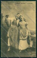 Palermo Costumi Siciliani cartolina QQ0889