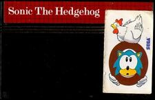 SONIC THE HEDGEHOG - Juego / Game SEGA - Solo Cartucho / Only Cartridge