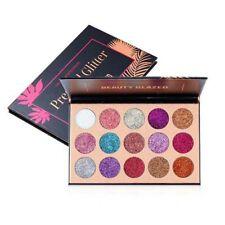 Diamond Glitter Eyeshadow Palette 15 Color Long Lasting Pressed Palette Cosmetic