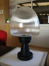 Sobremuro/farol negro sintetico con esfera transparente