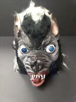 Topstone vintage pro painted Wolfman Werewolf Mask with eyes not Don Post