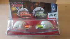 Disney Pixar Cars Oil Rig Getaway Series Grem & Acer With Helmet
