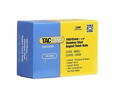 Tacwise 16G/45mm Stainless Steel Angled Finish Nails