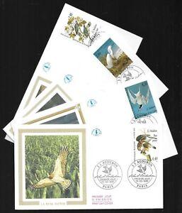 1994 série les oiseaux j j Audubon enveloppe premier jour