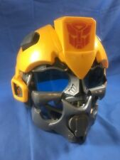 2008 HASBRO Transformers Bumblebee Talking Voice Changer MUSIC Helmet Mask WORKS