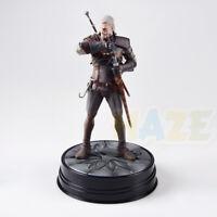 The Witcher 3 Wild Hunt Geralt de rivia Statue Action Figure Modèle Jouets 24cm