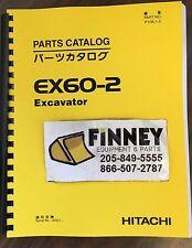 Hitachi EX60-2 Excavator Parts Manual Book Catalog P10k-1-5 P10K15 SN 30000