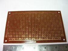 Perf Board Single Side Odd Solder Pads 3 916 X 6 4mm Spacing Japan Nos Qty 1