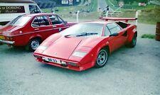 More details for lamborghini countach lp500s ryp 547y br 33 barry robinson car photographs rare