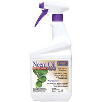 Bonide 022 Neem Oil Spray, Ready To Use, 32 Oz