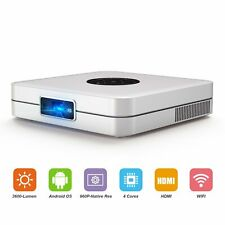 [TOUMEI]Projector K1 High Bright 350-ANSI Portable Android Smart Video Projector
