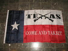 3x5 Texas State Come And Take It Crossed Rifles Flag 3'x5' nylon poly