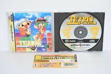 TETRIS PLUS Sega Saturn with SPINE * ss