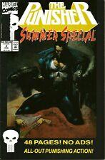 PUNISHER SUMMER SPECIAL #2 (VOL 1) SIMON BISLEY COVER / MARVEL / AUG 1992 / V/G