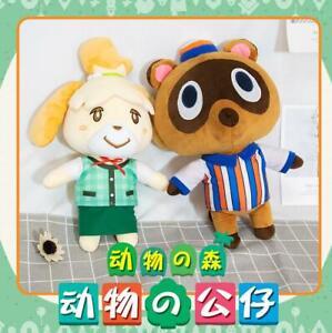 Animal Crossing New Horizons Tom Nook 36CM Plush Toy Soft Doll Birthday Gift N