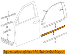 Cadillac GM OEM 15-18 Escalade ESV FRONT DOOR-Body Side Molding Left 23240226