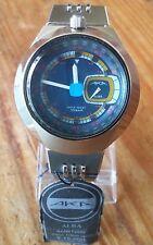 Alba (Seiko) Bullhead Type with UFO Case & Rare Blue Dial AMBT009 V707 0A10
