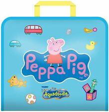 Tomy AQUADOODLE PEPPA PIG DOODLE BAG Water Drawing Set BN