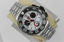 Tag Heuer CAC1111.BA0850 Formula 1 One White Chronograph Watch Mens Mint Crystal