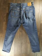Men's Levi's 501 S Big E Jeans 32x28 Skinny Blue Jean's Button Fly