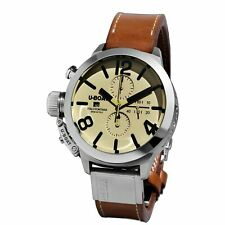 U-Boat Classico Automatic Watch Tungsten 45mm Chronograph 7431/a