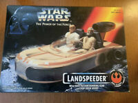 STAR WARS THE POWER OF THE FORCE LANDSPEEDER NEW REBEL ALLIANCE
