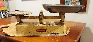 Vintage Fairway Enamel Scales