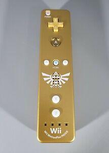 Nintendo Wii Legend Of Zelda Skyward Sword Gold Remote MotionPlus