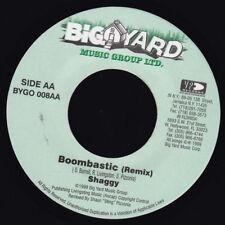 "Shaggy - Boombastic 7"" Vinyl LP Reggae Dancehall Classic Anthem NEW COPY +remix"