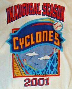VINTAGE 2001 Brooklyn Cyclones Inaugural Season Men's T-Shirt Size XL