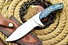 Custom Hand Made D2 Tool Steel Skinning Blade Hunter Camping Full Tang Knife