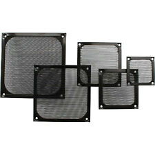 Fan Grill Aluminum Filter 140x140mm black