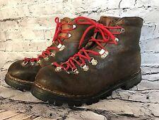 Vintage RICHARD PONTVERT GALIBIER Men Brown Hiking Boot Made in France US 10.5